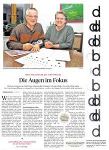 Jan Dominiczak Pforzheimer Zeitung Die Augen im Fokus