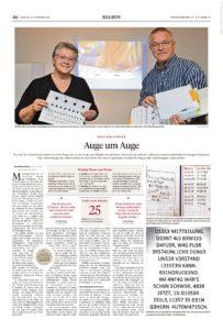 Jan Dominiczak Pforzheimer Zeitung Auge um Auge